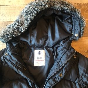 Petit Bateau Toddler winter coat size 4